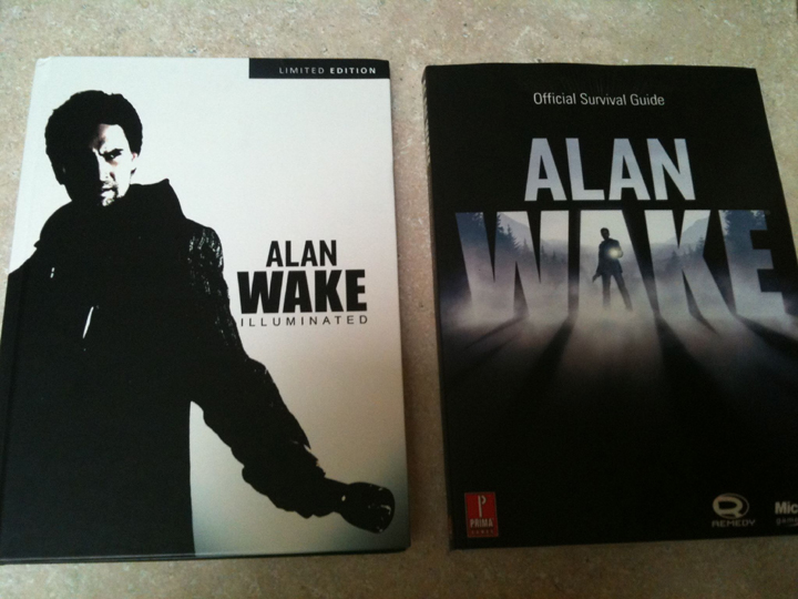 Alan Wake Strategy Guide Collector's Edition: Guide and Artbook