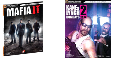 Mafia II strategy guide and Kane & Lynch 2: Dog Days strategy guide