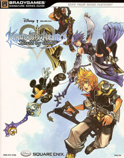 Kingdom Hearts Birth by Sleep Strategy Guide by BradyGames