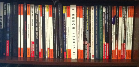 Strategy Guide Shelf