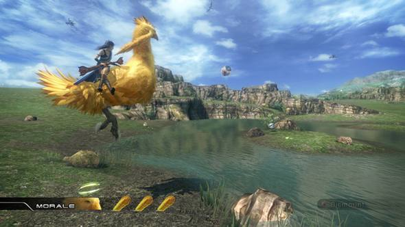 Final Fantasy XIII chocobo