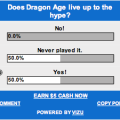 Dragon Age: Origins poll