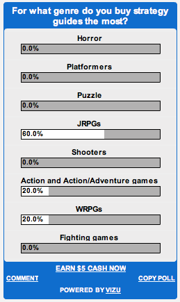 Strategy Guide Genre Poll