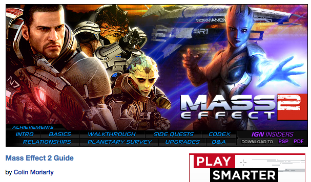 IGN Mass Effect 2 Guide & Walkthrough