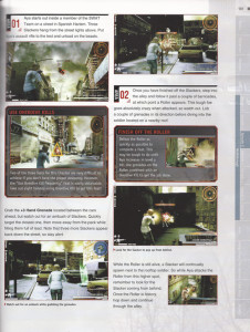 A Page from the 3rd Birthday strategy guide
