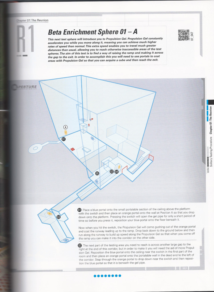 Portal 2 Strategy Guide Maps