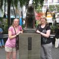 Hachiko at Shibuya Station