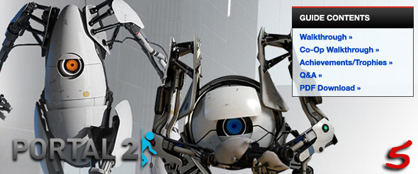 Portal 2 IGN Strategy Guide Review