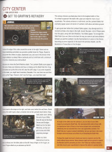 Page from Gears of War 3 strategy guide