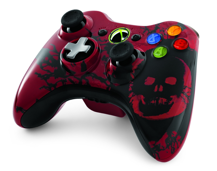 Gears of War 3 controller