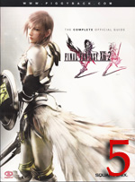 FFXIII-2 strategy guide review
