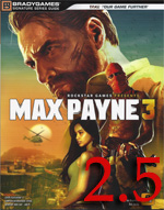 MP3 rating Max Payne 3 Strategy Guide Review