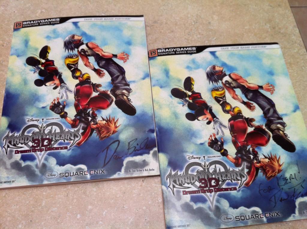 Kingdom Hearts Dream Drop Distance strategy guide