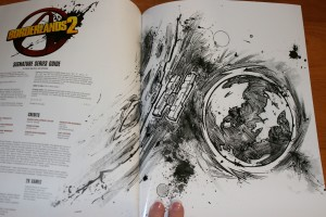Borderlands 2 strategy guides - inner artwork
