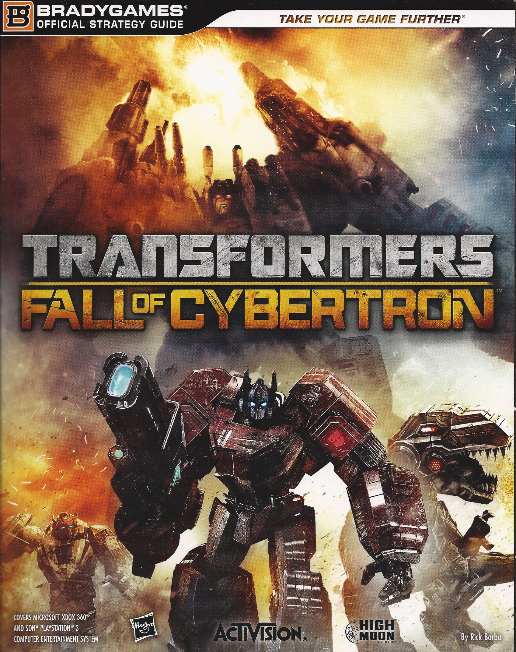 Transformers: Fall of Cybertron strategy guide