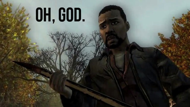 The Walking Dead video game decisions