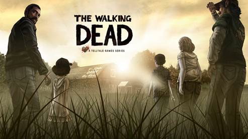 the walking dead video game Monday Gaming Diary: Zombies give me nightmares