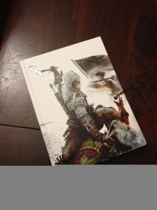 Assassin's Creed III Collector's Edition strategy guide cover