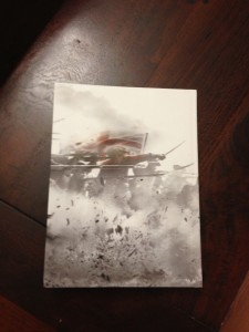 Assassin's Creed III Collector's Edition strategy guide back cover