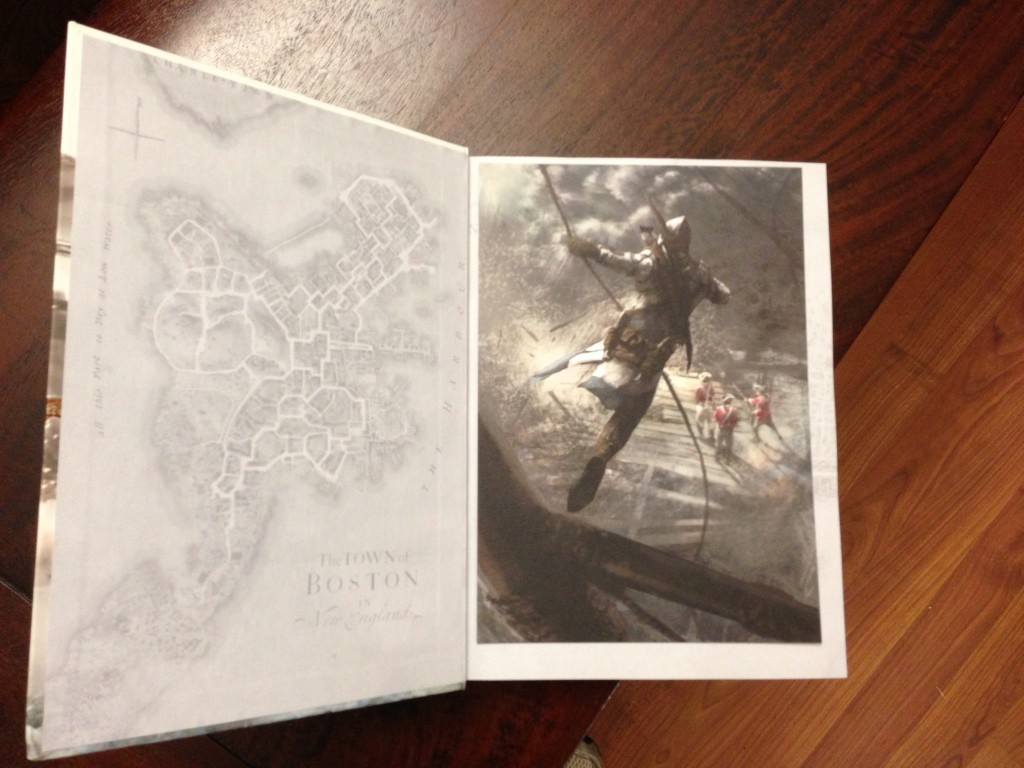 Photo Oct 29 6 45 51 PM 1024x768 Assassins Creed III Collectors Edition Strategy Guide   Why Should I Buy?