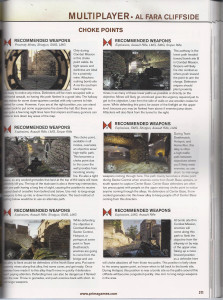 Medal of Honor Warfighter strategy guide
