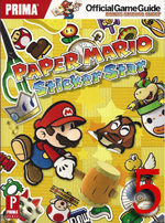 StickerStar rating Paper Mario: Sticker Star Strategy Guide Review