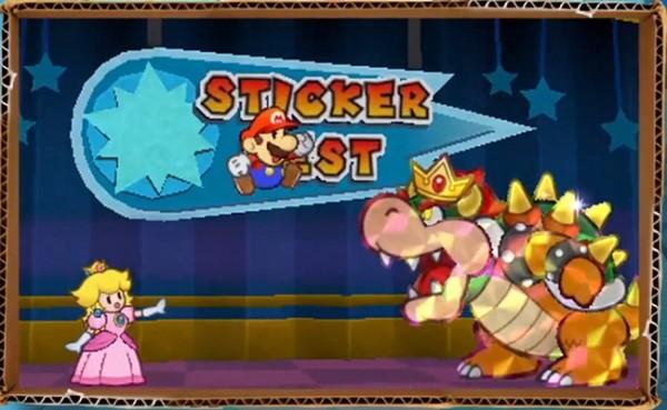 Bowser - Paper Mario Sticker Star