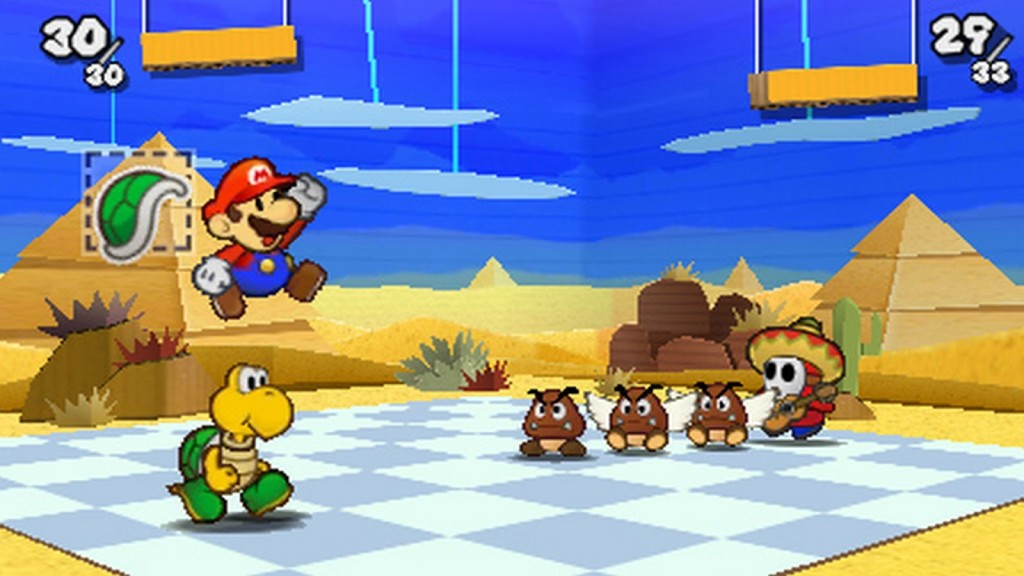 paper mario sticker star screen 4 1024x576 Paper Mario: Sticker Star Mini Review
