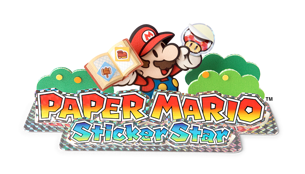 Paper Mario Sticker Star Logo