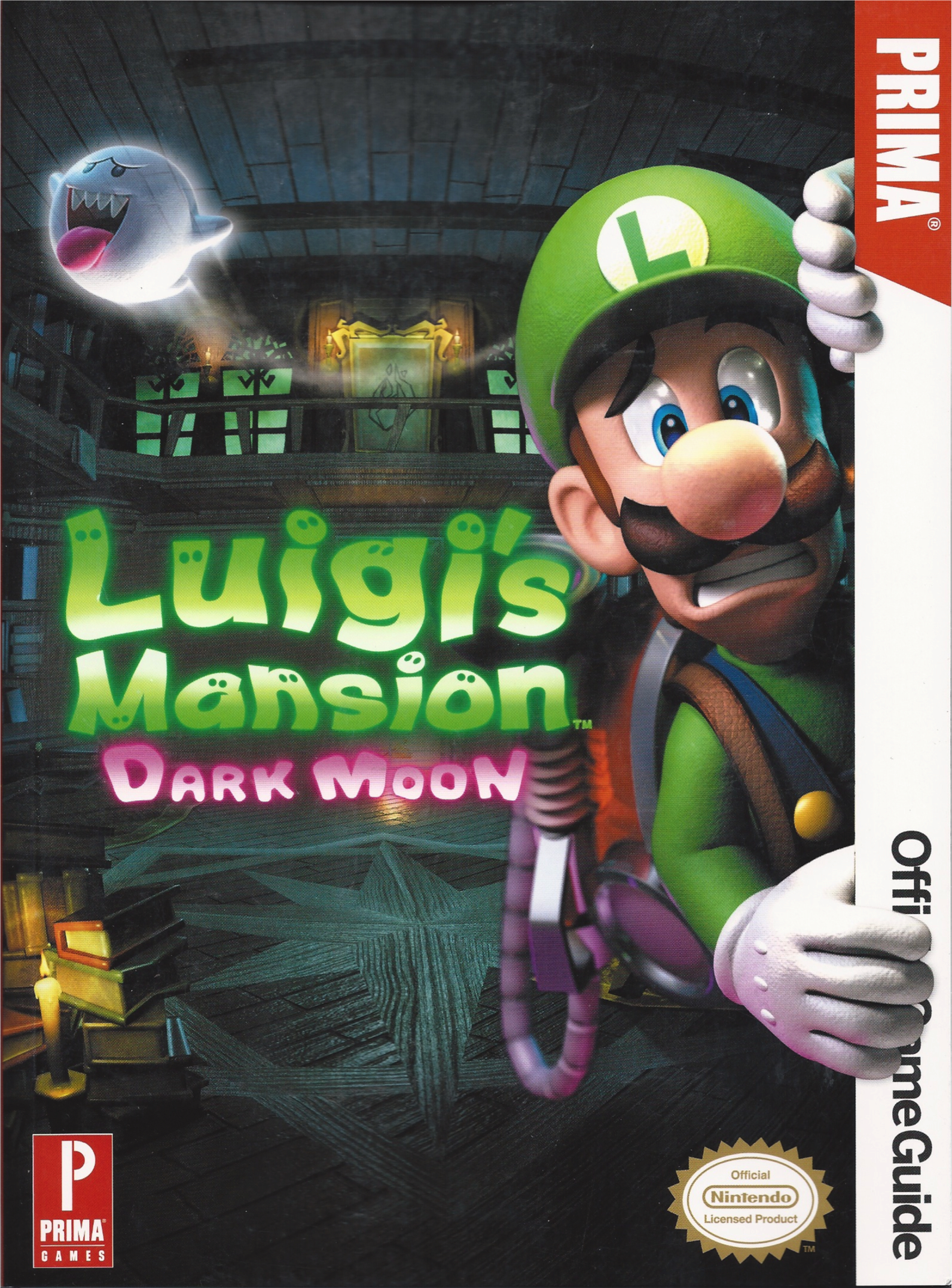Luigi's Mansion Dark Moon strategy guide