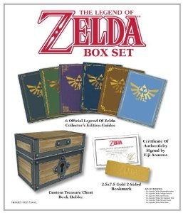 The Legend of Zelda hardcover box set