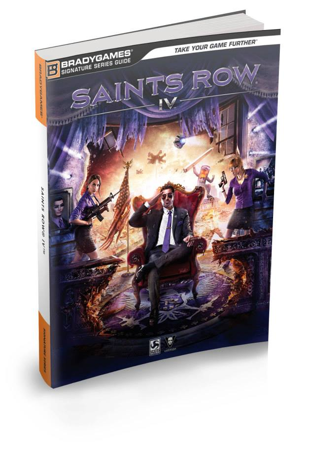 SaintsRowIVcover Saints Row IV Strategy Guide Cover Revealed