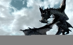 skyrim-dragon