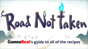 Road Not Taken Recipe Guide by VentureBeat