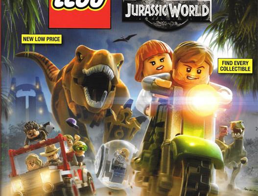 LEGO Jurassic World strategy guide
