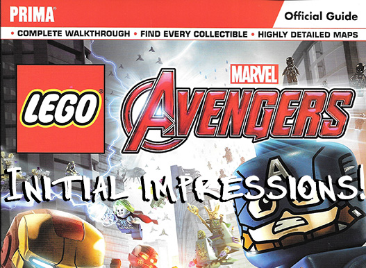 LEGO Marvel's Avengers Strategy Guide Initial Impressions
