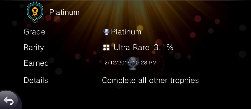 LEGO Batman 3 Vita Platinum Trophy