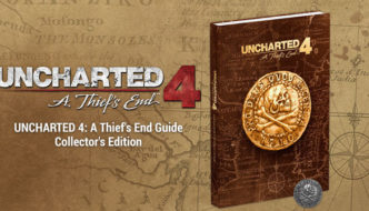 Uncharted 4: A Thief's End Collector's Edition Strategy Guide Announced