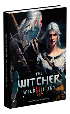 The Witcher 3 Wild Hunt Complete Edition Collector's Strategy Guide