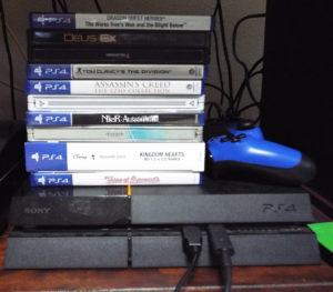 PS4 stack of shame