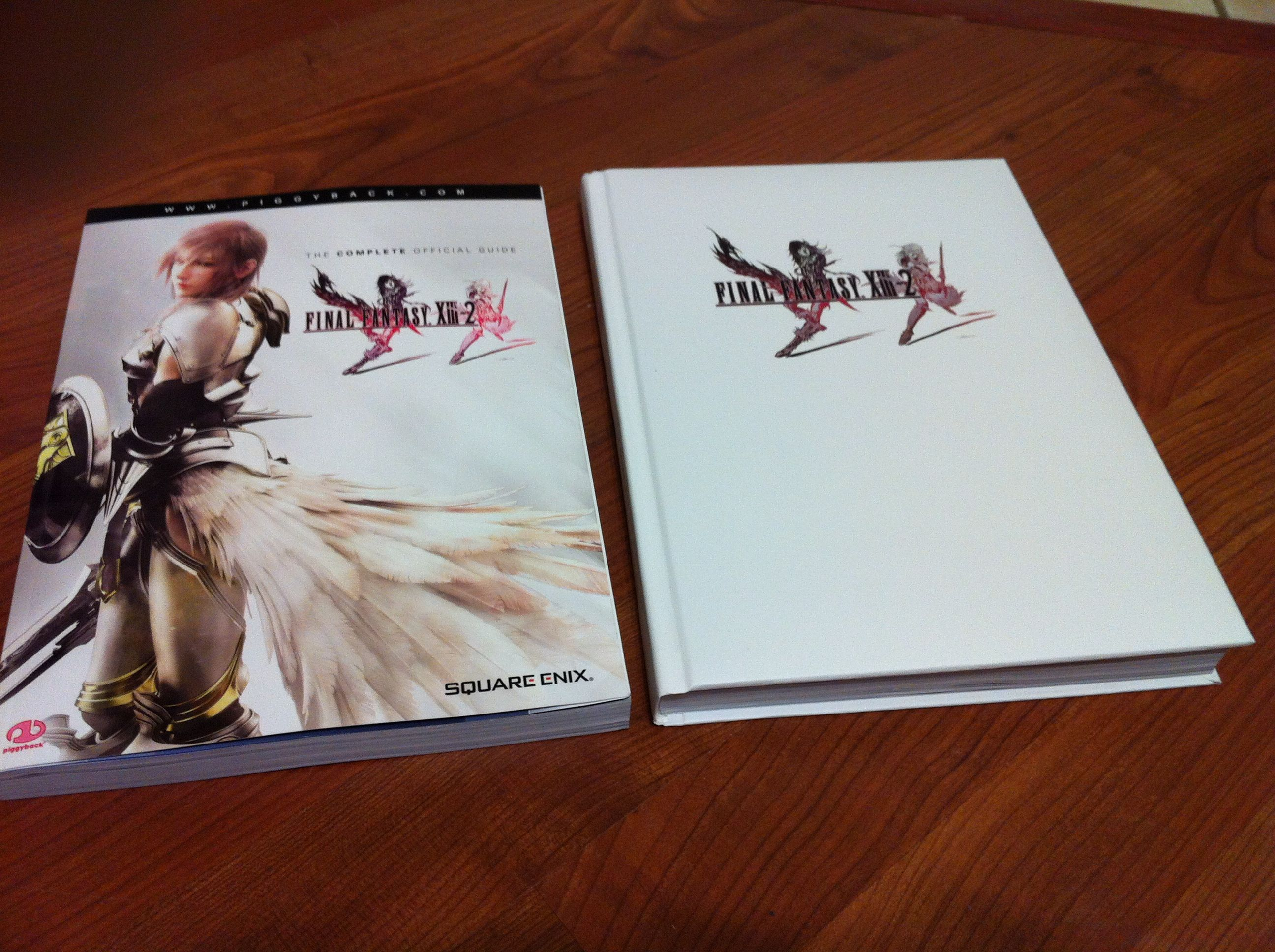 Final fantasy xiii-2 ce strategy guide why should i buy?